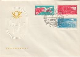 DDR 1961 - MiNr: 822-824  FDC - FDC & Gedenkmarken