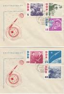 DDR 1961 - MiNr: 863-868 Komplett  FDC - Europa