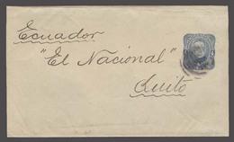 Argentina - Stationery. C.1888. BA - Ecuador. 4c Blue Stat Wrapper. V Scarce Dest. - Argentina