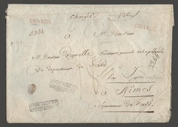 Italy - Prephilately. C.1805. Milano - French Napoleon Occup / France. Reg Env By General Chef De L'armee D'italie (Napo - Italy