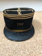 Képi Capitaine Du 196 Eme Régiment D'Artillerie - Casques & Coiffures