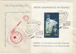 DDR 1962 - MiNr: 917 Block 17  FDC - Europa