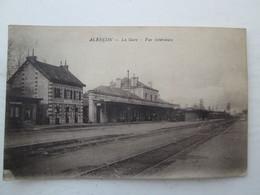 ALENCON  Vue Interieure De La Gare , Cachet 303e Régiment D'infanterie  1918 - Alencon