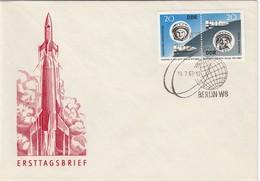 DDR 1963 - MiNr: 970-971  FDC - Europa