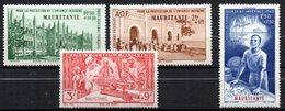 Col 13 /  Mauritanie PA  N° 6 à 9  Neuf  XX MNH  Cote 5,00 € - Unused Stamps
