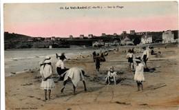 Le Val-André - Sur La Plage 1921 - édit Soret - Autres Communes