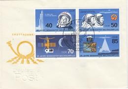 DDR 1986 - MiNr: 3005-3008 4er Block Komplett FDC - Europa