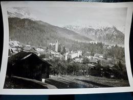 PHOTO ORIGINALE _ VINTAGE SNAPSHOT : VILLAGE à La MONTAGNE _ ANNEES 1920   //L2200.E1 - Lieux