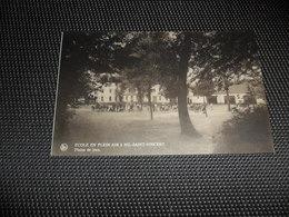 """Nil - Saint - Vincent ( Walhain ) Ecole En Plein Air - Vendu Profit De L' Oeuvre Philanthropique """" Roger De Grimberghe"""" - Walhain"""