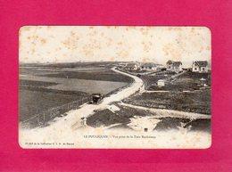 44 Loire Atlantique, Le Pouliguen, Vue Prise De La Tour Rochereau, Animée, Attelage, Villas,  (G. I. D.) - Le Pouliguen