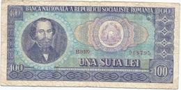 Rumanía - Romania 100 Lei 1966 Pk 97 A Ref 652 - Rumania