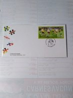 Brasil Fdc The Final Game Chile 62 Vs Czecho - Coupe Du Monde