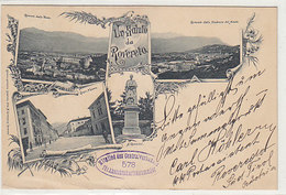 Un Saluto Da Rovereto - Interessante: Mitglied Des Centralverbandes F Ansichtskartensammler - 1898     (190414) - Otras Ciudades