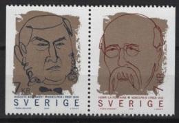 Sweden (1999) Yv. 2123/24  / Joint Issue With Belgium - Gezamelijke Uitgaven