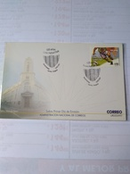 Uruguay  Fdc 100 Years Of Colon Football Club - Voetbal
