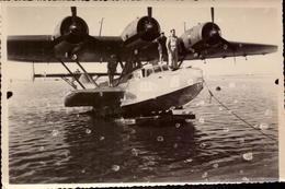 Hydravion Dornier, Tunisie, Karouba         (bon Etat)  Dim: 17 X 11. - Guerre, Militaire