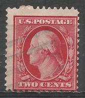 United States 1908. Scott #332 (U) George Washington (1732-99), President * - United States