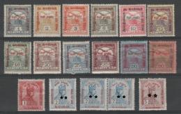 HONGRIE 1915  - Obl. Y&T 142/155 - - Hongrie