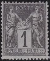 France   .    Yvert  .    83     .     **   .     Neuf SANS Charniere  .   /   .   MNH - 1876-1898 Sage (Type II)