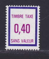 FRANCE FICTIF TAXE N° FT36 ** MNH Timbre Neuf Sans Charnière, TB - Fictifs