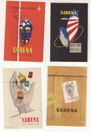 BELGIQUE : SABENA . - Étiquettes à Bagages