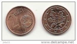 2 Cent, 2012, Prägestätte (F) Vz, Sehr Gut Erhaltene Umlaufmünze - Deutschland