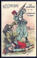 CP 3- CPA ANCIENNE FRANCE- MILITARIA- ILLUSTRATIONS DE DECAUNES- LES DÉTROUSSEURS DE CADAVRES- N°26 - Patriotiques