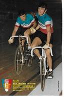 VAN LANCKER Alain  - MOURIOUX Jacky - Cyclisme