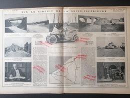 1907 AUTOMOBILE - SUR LE CIRCUIT DE LA SEINE INFÉRIEUR - VILLE D'EU - CRIEL - MAIRE DE DIEPPE - Livres, BD, Revues