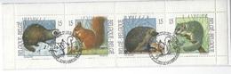 België O.B.C   Boekje 23   (2477 / 2480)     (O)  Natuur - Used Stamps
