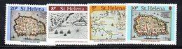 CI767 - ST. HELENA 1981 , Yvert Serie N. 336/339  ***  MNH - Isola Di Sant'Elena