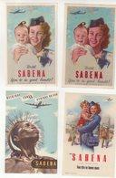 BELGIQUE : SABENA . - Baggage Labels & Tags