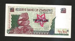 ZIMBABWE - Reserve Bank Of ZIMBABWE - 10 DOLLARS (1997) - Zimbabwe