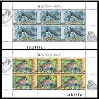 BULGARIA \ BULGARIE - 2019 - EUROPE-SEPT - Oiseaux Protégés (PREORDER!) - 2 PF** - Bulgaria