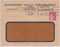 LSC -  LILLE RP /  29.V.1933 - Marcophilie (Lettres)