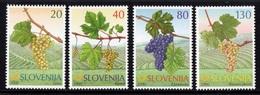 ESLOVENIA 2000 - SLOVENIE - FRUTAS - UVA - YVERT Nº 295-298** - Slovénie