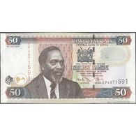 TWN - KENYA 47e - 50 Shillings 16.7.2010 Prefix EP UNC - Kenya