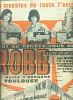 987- JOURNAL PUBLICITAIRE MOBB MEUBLES DE TOUTE L EUROPE TOULOUSE 16 PAGES - Old Paper