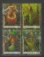 Philippines - Pilipinas (2013) - Set -  / Fleurs - Flowers - Fleischfressende - Carnivorous Plants - Plantes Carnivores - Planten