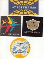 ALLEMAGNE : LUFHTANSA . - Étiquettes à Bagages