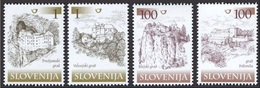 ESLOVENIA 2000 - SLOVENIE - CASTILLOS - CHATEAUX - YVERT Nº 277-280** - Slovénie