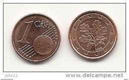 1 Cent, 2012, Prägestätte (J) Vz, Sehr Gut Erhaltene Umlaufmünze - Deutschland