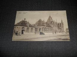Furnes  Veurne  Station  Gare  Statie  Spoorhalle - Veurne