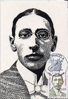 CARTE MAXIMUM  –  MONACO 1982  Musique Igor Stravinsky - Maximumkaarten