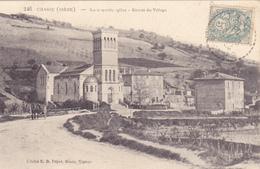 CPA 38 @  CHASSE - La Nouvelle Eglise En 1906 - France