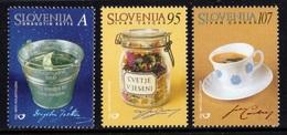 ESLOVENIA 2001 - SLOVENIE - POETAS Y ESCRITORES - YVERT Nº 313-315** - Slovénie