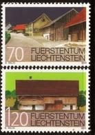 Liechtenstein 2002 Village Views 2 Values MNH Popers, Mauren - Sonstige