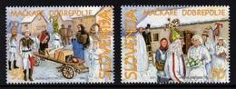 ESLOVENIA 2001 - SLOVENIE - FOLCKLORE - YVERT Nº 310-311** - Slovénie