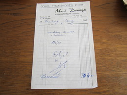 1051     TRANSPORTS  DOMINGOS 86210 BONNEUIL MATOURS - 1900 – 1949