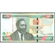 TWN - KENYA 50c - 500 Shillings 3.3.2008 Prefix BA UNC - Kenya